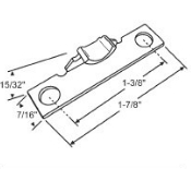 Hung & Sliding Top Mounted Window Keepers 50-911K